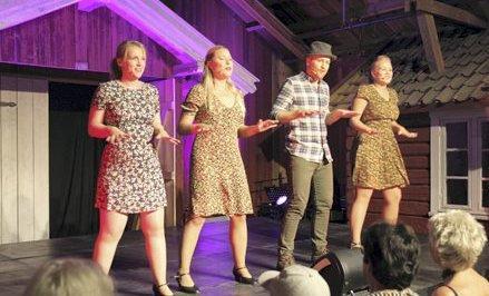 FØR JUL: Det blir Prøysen i Julestria på BDhuset i Holmsbu servert av Perleraden Musikkteatergruppe.