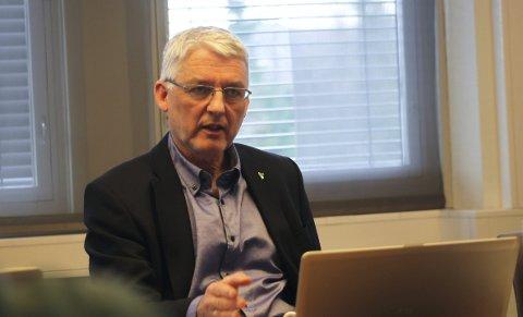 PENSJONIST: Olav Roger Grande har takket av i kommunen og ble i juni pensjonist.
