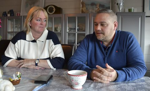 Tøff tid: Det ble ingen hyggelig jul for Anne Cathrine Vogt og Jan Fredrik Vogt. ALLE FOTO: INGUNN HÅKESTAD BRÅTHEN