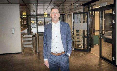 GIKK AV: Henning Fjell Johansen sluttet brått i begynnelsen av august. Nå leter kommunen etter hans permanente etterfølger.