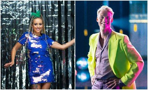 Royana Harkati og Simon Nitsche er begge klare for Skal vi danse på TV 2.