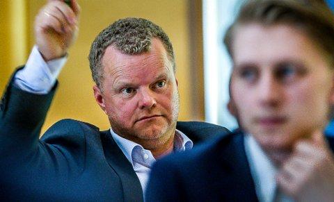 VIL UT: Kai Roger Hagen vil at Sarpsborg trekker seg ut av Bypakke Nedre Glomma for å unngå bomringen, men han fikk det politiske flertallet i bystyret mot seg.