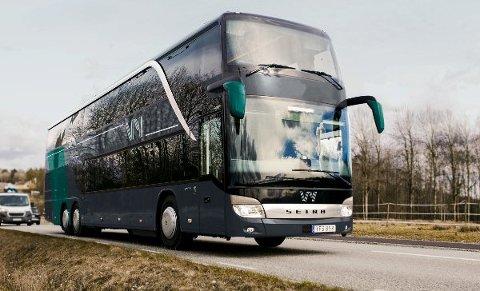 Nettbuss-bussene blir nå Vy-busser. Slik skal de se ut.