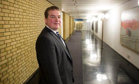 – Sykepleierne er en viktig forutsetning for at helsetjenesten fungerer godt, sier Sveinung Stensland, helsepolitisk talsperson for Høyre.