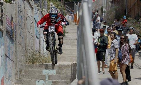 Alberto Nicolas fra Chile under RedBull Valparaiso i 2016.