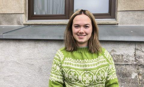 To helsestasjoner:  Tuva Nybakk (19) vil ha to helsestasjoner for ungdom i Indre Østfold kommune.