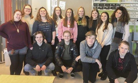 Hele klassen: OO Music består av elevene i hele musikklassen.