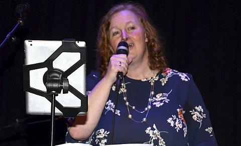 VAKKERT: Jeanette Sehlin sang nydelige visesanger av Erik Bye og flere.