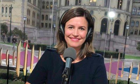 JOBBER FOR NRK I USA: Veronica Westhrin, som er fra Kragerø, blir hentet hjem fra USA på grunn av koronapandemien.