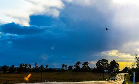 REGN: Meteorologisk institutt melder om regn i vente, men finere vær inn i neste uke. Foto: Asbjørn Olav Lien