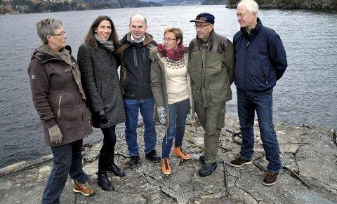 2012: I spissen for innbyggerinitiativet i 2012 sto bl.a. Sissel Sannesmoen (f.v.), Hjørdis Hjukse, Hallgeir Kaasa, Reidun K. Sperre, Håvard Haukvik og Tom S. Aasland. (Arkivfoto)