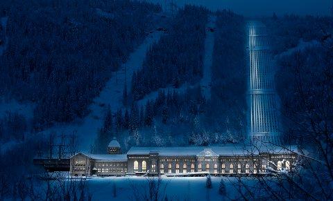 ÅPNE KLASSE: Lydplanen for Rjukan-Notodden industriarv vant åpen klasse under Lysprisen 2018.