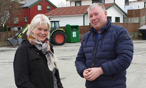 Berit Frey og Torbjørn Sagen mener at avvikling og nedleggelser av viktige helsetilbud kan sprenge hele fylket.
