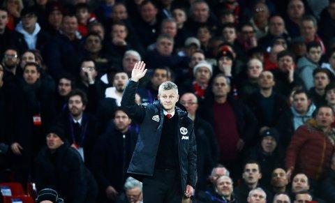 Ole Gunnar Solskjær ledet Manchester United til kvartfinale i mesterligaen onsdag.