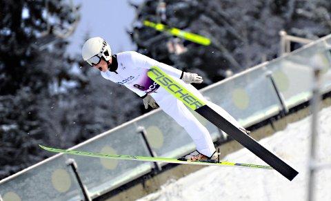 John Fredriksen Orset leverte godt i junior-NM i kombinert.
