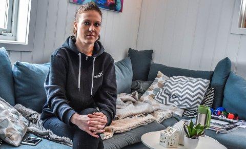 ÆRLIG OM HISTORIEN: Ane Marthe Steinmann sier at hun ikke har problemer med å snakke om historien sin, selv om den fortsatt preger henne.