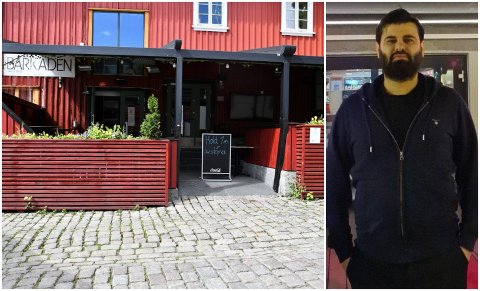 BLIR STRAFFET: Barkaden-eier Zirek Suleyman søkte om kompensasjon fra kommunen, men fikk avslag. Det til tross for at de har tapt mange millioner kroner under koronapandemien.