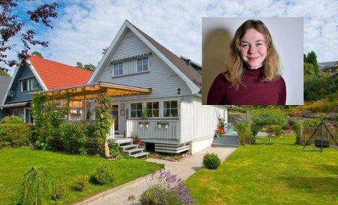 BOLIGMARKEDET: Ada Lassen-Urdahl (20) sitter i kommunestyret for Arbeiderpartiet og mener at det er bekymringsverdig at unge mennesker ikke kommer seg inn på boligmarkedet.