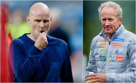 Landslagssjef i fotball, Ståle Solbakken, reagerer kraftig på uttalelsene til langressjef Espen Bjervig.