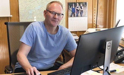 Vegårshei-ordfører Kjetil Torp (KrF) innser at partiet hans havner under den viktige sperregrensen. Arkivfoto