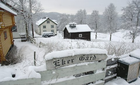 """""""Drømmer du om det gode liv på landet? Velkommen til tidligere Eker Gård - sjarmerende gårdstun i Skammestein, Valdres. Boligeiendom beliggende i naturskjønne omgivelser med vidstrakt utsikt"""", står det i prospektet."""