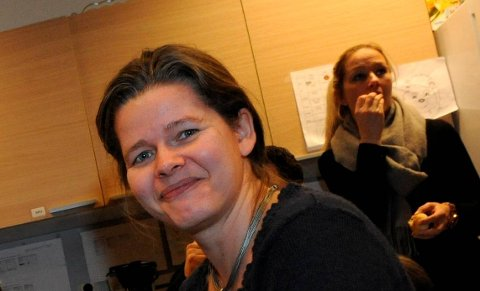 SIKKERPLASS:Kjerstin Olsen fikk flest stemmer ved menighetsrådsvalget i Hakadal.