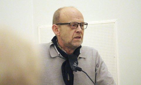 ALENE: Kjell Meek og SV er etter eget ønske utenfor det politiske flertallet i Vestby.