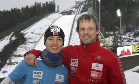 Comeback: Kanskje Alex Stöckl får se gode hopp av Phillip under NM i Lysgårdsbakken kommende helg?