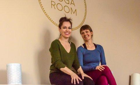 ARRANGERTE WORKSHOP: Heidi Bloin og Siw Aduvill tok for seg temaet hvile og hvilken plass det har i vår kultur. Heidi ønsker å invitere flere aktuelle foredragsholdere til høsten.