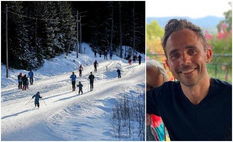 FLAKS: Lars Christian Tvedt forteller at det var mange tilfeldigheter som førte til at han våknet igjen.