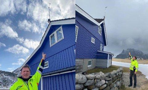 For snart 20 år siden skaffet Ståle Kato Olsen på Uttakleiv en vindmåler. Forsikringsselskapet ville ikke tro at vinden kunne være så sterk.