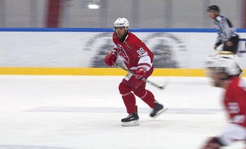 Preben Aune Lindvik i aksjon for BIK. Han er tilbake i «Badekaret» etter en periode i Haugesund.