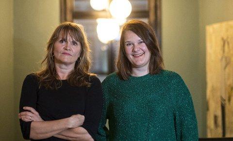 Populære: Nina Lykke har solgt 48.500 eksemplarer av «Full spredning», Marie Aubert har solgt 10.000 av debutromanen «Voksne mennesker».