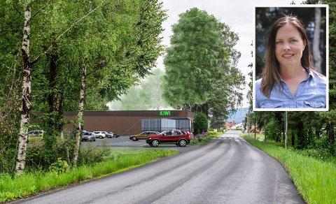 NEI: Cathrin Janøy sier nei til den nye butikken.