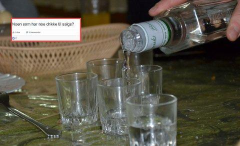KJØP OG SALG AV ALKOHOL: Studentene opprettet sitt eget forum for kjøp og salg av alkohol. Det liker politiet dårlig.