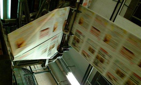 IKKE PÅ PAPIR: Lørdagens papirutgave vil denne lørdagen ikke komme i postkassa til rundt 150 av Fremovers abonnenter. Arkivbilde