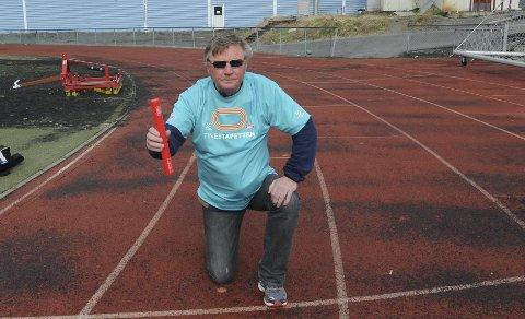 Arrangør Terje Ivarsson er klar for årets Tinestafett som går av stabelen 8. mai, men minner skolene om påmeldingsfristen som går ut torsdag denne uken.