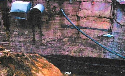 RØR: Er dette et bilde som viser rør som er intakte eller rør som må skiftes ut? Nå er også det blitt stridsemne i den lange kampen om Øyeklinikken i Narvik.