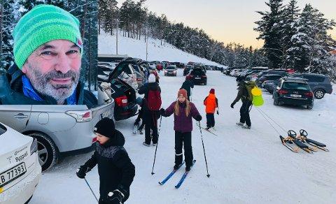 Øystein Dahle i Jæren friluftsråd sier at de har tatt grep for å unngå trafikkaos inn til Brekko.