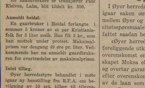 Å lure byfolk er ein sport som har vore utøvd i stor grad i distrikts-Noreg. Her ein heidøl som har tøygd strikken vel langt.
