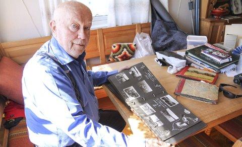 GODE MINNER: Kjell Pettersen (84) er født og oppvokst i Eskeviken og har mange gode minner fra Rødnabbene.