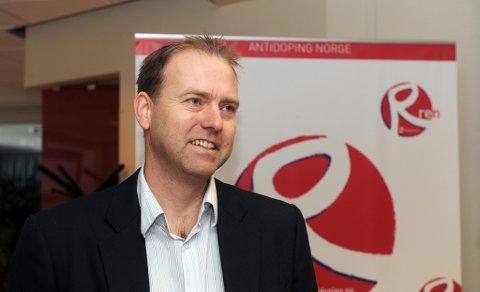 FRUSTERT:  Anders Solheim i Antdoping Norge.