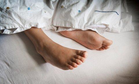 I FIRE UKER: Haldensere kan risikere å ligge i det samme sengetøyet i fire uker før det blir skiftet. Illustrasjonsfoto.
