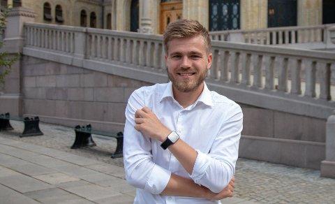 Lasse Fredheim (H) fra Haugesund er blant representantene i fylkestinget i Rogaland. Han er fornøyd med prioritering av E 134