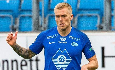 Eirik Ulland Andersen kan bli ute lenge dersom han røk akillesen mot Eide i cupkampen onsdag kveld.