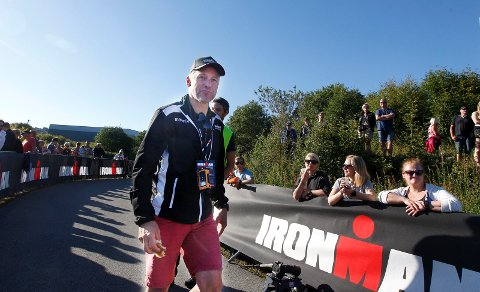 TAR GREP: Ironman-sjef Ivar Jacobsen.