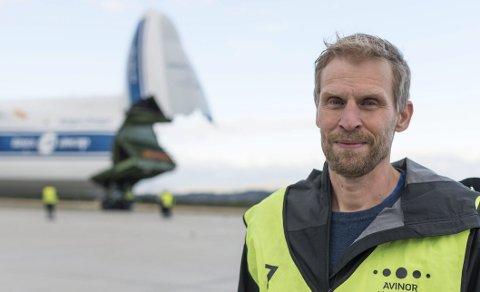 «GOD DAG MANN ØKSESKAFT»: Jo Inge Hesjevik, leder i Finnmark Høyre, mener fortsatt at Avinor unnlater å si alt rundt endringene på Banak.