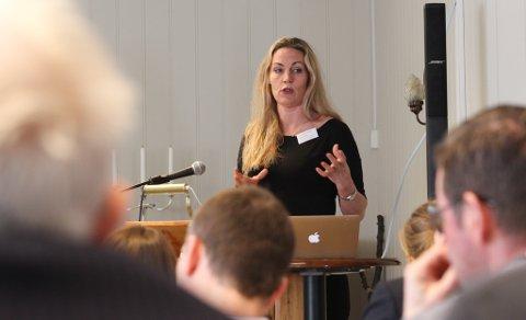 KVALSUND: Caroline Greiner i selskapet Polare Algae satser i Kvalsund. Selskapet har fått 200.000 kr fra kommunen til utvikling.