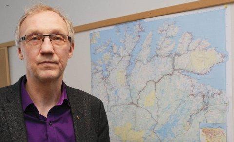 JOBBER FOR DET BESTE: Geir Ove Bakken(Ap) mener det er på tide å brette opp ermene og sette ned en fellesnemnd for Troms og Finnmark. – Vi må gjøre det beste ut av det, sier han