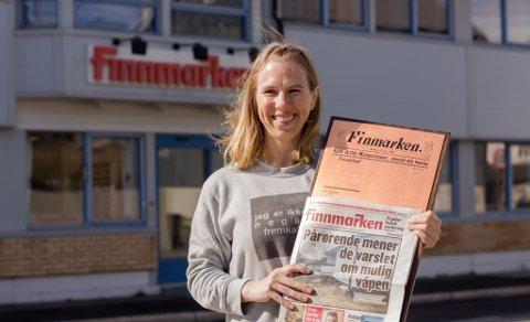 STOLT: Finnmarken er en stolt 120-årsjubilant. Men regjeringens forslag til ny postlov, er et skår i gleden, skriver ansvarlig redaktør Anniken Renslo Sandvik.